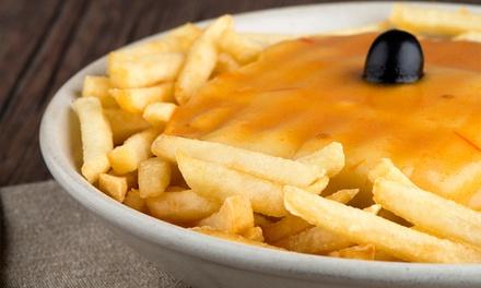 Barrigas — Antas: menu de francesinhas com batatas e welcome drink para duas ou quatro pessoas desde 8,90€