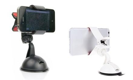Suporte de carro universal para smartphone ou GPS com ventosa por 6,90 €