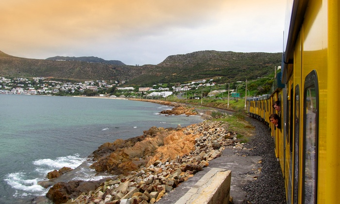 Metrorail - Cape Town: Train Trip To Simon's Town For Two People with Lunch From R189 with Rail Tourism (41% Off)