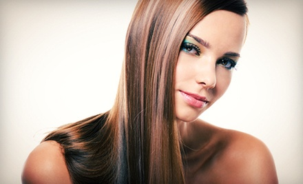 One or Two Keratin Hair Treatments at Christopher Anthony Salon & Spa (Up to 73% Off)