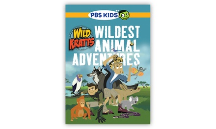 Wild Kratts Wildest Animal Adventures 5-Disc DVD Set