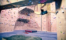 Indoor Rock Climbing at Strong Hold Climbing Gym at Hester's Family Fitness (Up to 87% Off). Three Options Available.