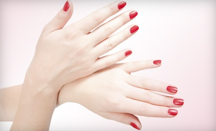 One or Three Spa Manicures or a Full Set of Nails from Lenee Lowery at Rumours Salon & Spa (Up to 67% Off)