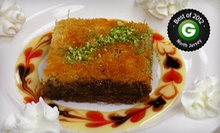 Mediterranean Dinner for Two at Mediterranea (51% Off). Two Options Available.