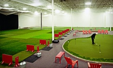 $75 for Five Hours of Indoor Driving Range and Short-Game Range Practice at Minnesota Golf Academy (Up to $150 Value)