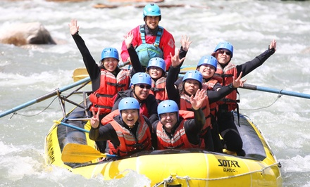 Whitewater Rafting Adventure from Wet & Wild Elaho Exhilarator Rafting (Up to 43% Off). Six Options Available.