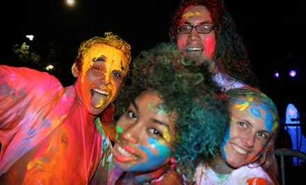 Entry to Glow in the Dark 5K Race for One, Two, or Four from Run the Rave on August 2 at 9 p.m. (Up to 53% Off)