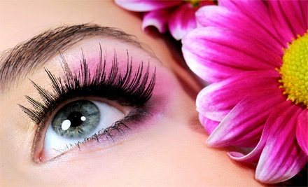 Partial Lash Extensions or Full Lash Extensions with Optional Refill from Elisa at StyLis Looks (Up to 59% Off)