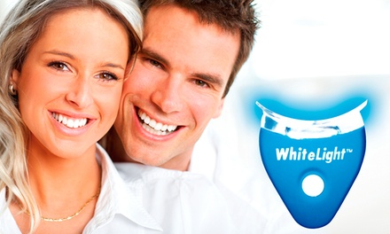 Kit de branqueamento dentário White Light Smile por 19,90€