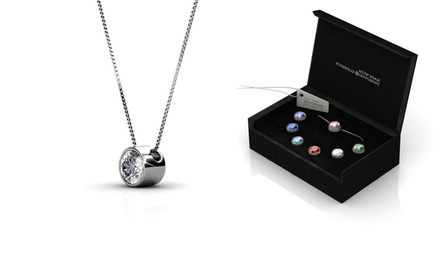 Colar e conjunto de 7 pingentes com Swarovski Elements por 19,99€ ou dois colares por 34,99€