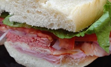 $11.99 for a Deli Meal for Two at All In Gourmet Deli (Up to $26.94 Value)