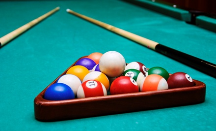 Two-Hour Rental of Private Billiards Room or Open Billiards Table at Gate City Billiards Club (50% Off)