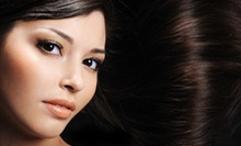 One or Two Keratin Hair-Smoothing Treatments at Salon121 Buckhead (Up to 84% Off)