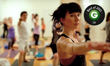 10 or 15 Yoga Classes at Rising Lotus Yoga (Up to 71% off)