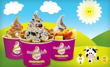 Frozen Yogurt at Menchies Frozen Yogurt (Half Off). Two Options Available.