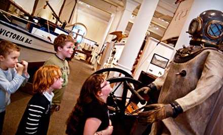 Maritime Museum of BC Visit for Two or Four (Up to 58% Off)