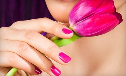 One or Two Gelish Manicures at MojiToes Nail Bar (Up to 53% Off)