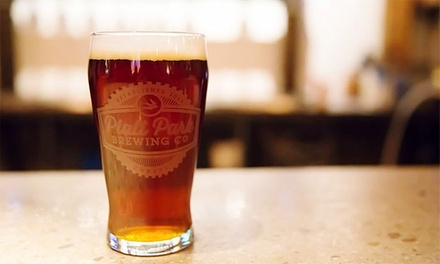 Tastings and Growlers at Platt Park Brewing Co. (Up to 44% Off). Four Options Available.