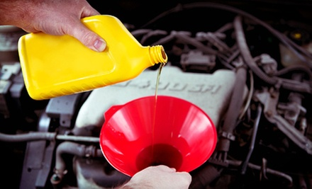 One or Three Conventional- or Synthetic-Oil-Change Packages at Tilden Car Care (Up to 78% Off)