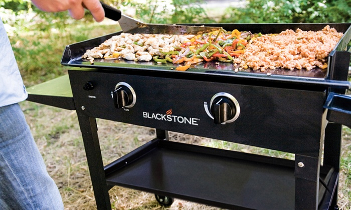 Blackstone 28 Outdoor Griddle Cooking Station With Base