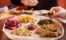 Ethiopian Cuisine at Axum Restaurant (Up to 52% Off). Three Options Available.