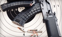Shooting-Range Outing with Select Firearm Rentals for One or Two at OMB Guns & Indoor Range (Up to 72% Off)