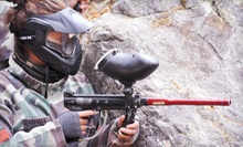 Paintball Adventure with Gear Rental and Paintballs for 1, 2, or 4 People (Up to 55% Off)