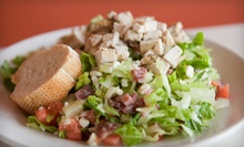 $25 for an Italian Meal with an Appetizer, Salad, and Drinks for Two at Ricci's (Up to $50.80 Value)