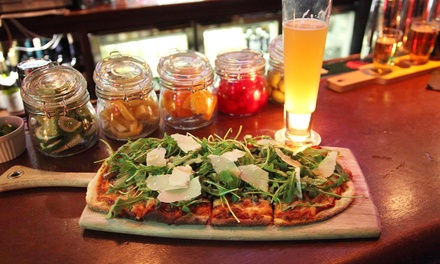 Pub-Food Lunch for Two with Optional Take-Home Growlers Taproom No.307 (Up to 51% Off)
