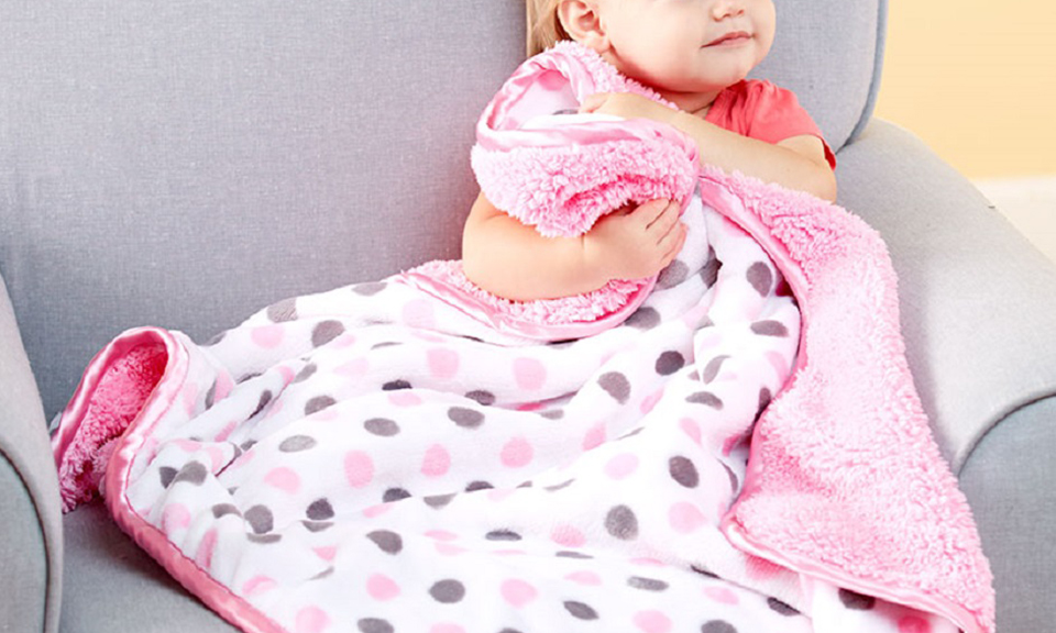 soft plush patterned baby blankets