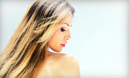 Haircut and Conditioning Treatment with Optional Color Services at Timeless Hair Studio (Up to 52% Off)