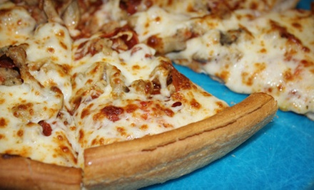 $10 for $20 Worth of Pizza and Drinks at Frodo's Pizza