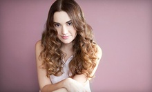 Haircut and Deep Conditioner with Optional Partial or Full Highlights at LK Hair Salon (Up to 58% Off)