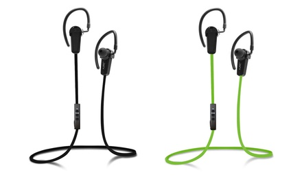 Jarv Nmotion Sport Wireless 4.0 Bluetooth Stereo Earbuds with Inline Mic
