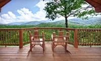 Upscale Log Cabins amid Great Smoky Mountains