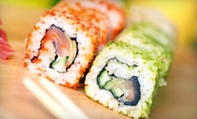 Sushi and Asian Cuisine at Sakura (Half Off). Three Options Available.