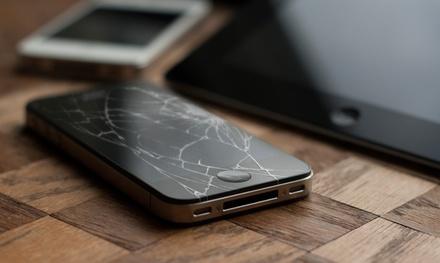 iPhone Screen Repair or Replacement, or iPad Screen Replacement at Phone-Fix (Up to 56% Off)