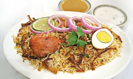 Indian Food for Dine-In or Carry-Out at Bawarchi Signature (40% Off)