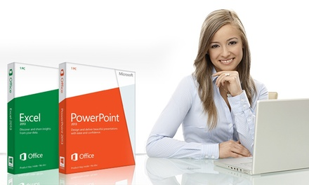 12 Months of Online Access to Excel and PowerPoint Accredited Courses from GoSkills (Up to 95% Off).