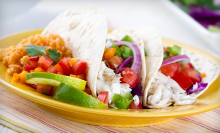 Mexican Food and Nonalcoholic Drinks at Rosa's Cantina (Half Off). Two Options Available.
