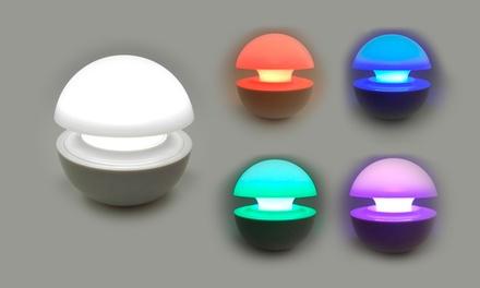 Uma lâmpada LED com cromoterapia por 12,90€ ou duas por 16,90€