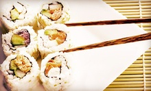 $12 for $25 Worth of Japanese Cuisine at Fuji Japanese Steak House, Hibachi, &amp; Sushi (52% Off). Two Options Available.