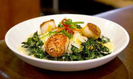 $13 for $20 Worth of American Cuisine for Lunch or Dinner at The Lotus Classic American Bar & Grill