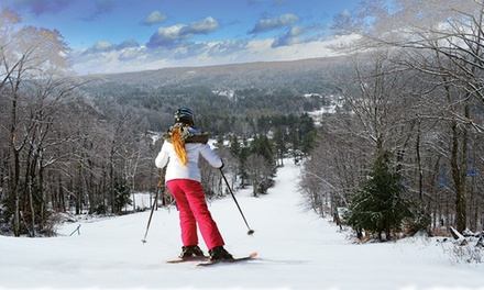 $19 for One Lift Ticket, Redeemable Wednesday–Sunday at Otis Ridge (Up to $35 Value)