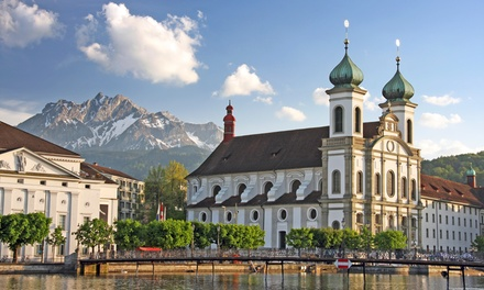Groupon Deal: ✈ 10-Day Tour of Germany, Switzerland, and Austria with Airfare. Price per Person Based on Double Occupancy.