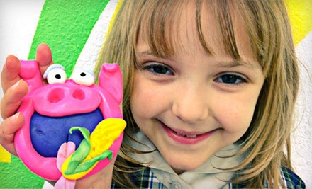 Two-Hour Saturday Sculpture/Drawing Class for One or Two Children at Art Smart in Arlington (Up to 56% Off)