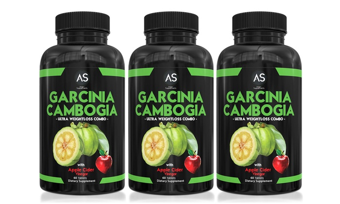 Garcinia Cambogia Apple Cider Vinegar Weight Loss Combo 1 2