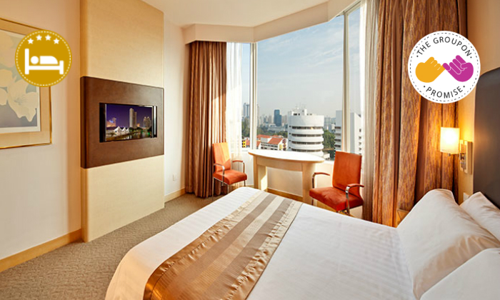 Singapore 4* Riverview Hotel & Lunch 0