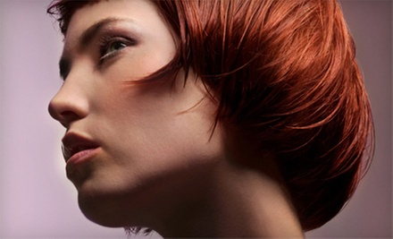 $55 for a Haircut with Single-Process Color or Partial Highlights at Luminosity Salon and Spa ($135 Value)