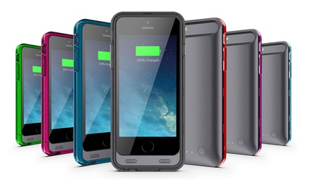 Urge Basics iPhone 5/5S and iPhone 6 Armorlite MFi Apple-Certified Extended Battery and Protective Cases